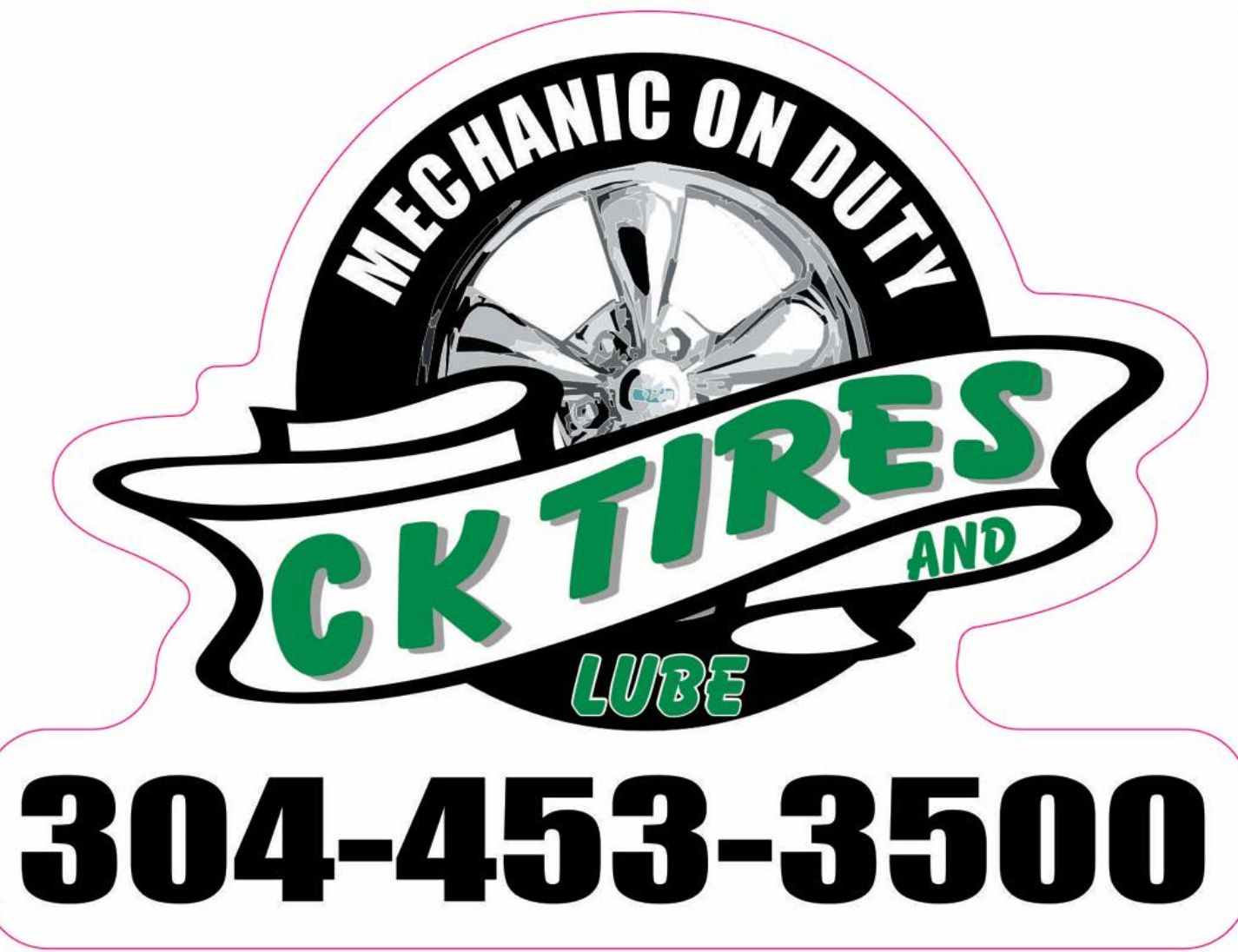 C K Tires & Lube | Best Place For Tires In The TriState  304-453-3500 Monday thru Friday 8 to 6. Saturday 9 to 1